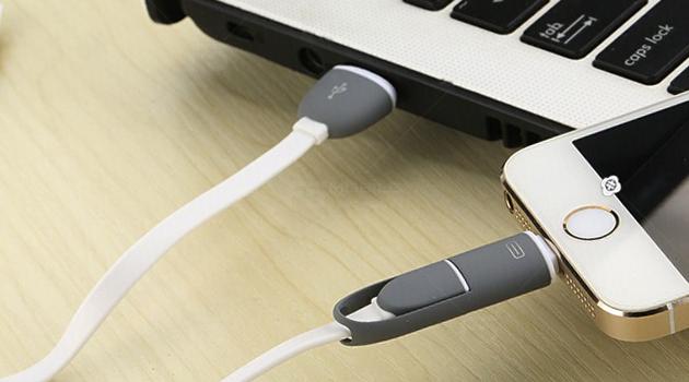 Lưu ý: Để đảm bảo quá trình kết nối iPhone với máy tính được diễn ra ổn định và an toàn cho thiết bị nên sử dụng những dây Cable chuẩn chính hãng. Bước 2. Mở ứng dụng itunes vừa cài đặt Bước 3. Sử dụng Cable kết nối iPhone chuẩn và kết nối với máy tính: